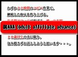 裏AAA(adult affiliate advance)